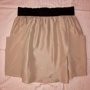 Silk Tulip Skirt